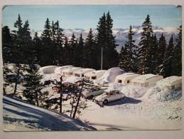 Citroen DS, Peugeot 404, Caravane, Chamrousse - Voitures De Tourisme
