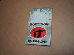 Boezinge Na 1914-1918 - Boeken, Tijdschriften, Stripverhalen