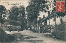 Saint Germain Sur Aulne Carrefour - France