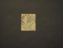 TURKS - 1882/4 REGINA  1 Sh. - TIMBRATO/USED - Turks E Caicos