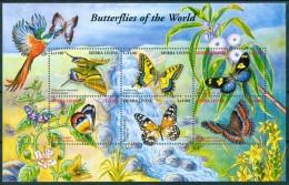 2001 Sierra Leone Farfalle Butterflies Schmetterlinge Papillons Block MNH** Spa95 - Sierra Leone (1961-...)
