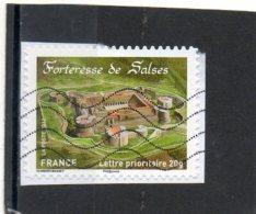 FRANCE   Lettre Prioritaire 20 G      2012    Y&T:721    Adhésif    Sur Fragment Oblitéré - France