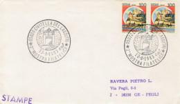ANNULLI  SPECIALI    CIVITELLA  DEL  LAGO (TR)  MOSTRA  FILATELICA  (STAMPE) - 6. 1946-.. Repubblica