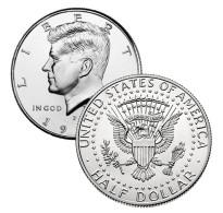 Half Dollar Kennedy USA Etats-Unis 1989 PHILADELPHIA BU - 1964-…: Kennedy