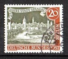 Berlin  1957 Mi / 159     725 Jahre  Stadt Spandau - Usados