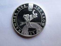Norway, 100 Kroner, 1991 Speed Skaters. - Norvège