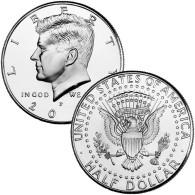Half Dollar Kennedy USA Etats-Unis 2014 PHILADELPHIA BU - 1964-…: Kennedy