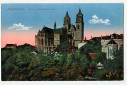 13275 Cpa  MAGDEBURG , Dom U Präsidialgarten   , ACHAT DIRECT !! - Magdeburg