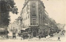 VERSAILLES CARREFOUR DE L'AVENUE DE SAINT CLOUD ET DE LA RUE CARNOT COMMERCE 78 - Versailles