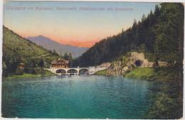 Walstern Bei Mariazell Steiermark  - Hubertussee Mit Stauwerk Österreich Oostenrijk Austria - Mariazell