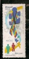 Brazil ** & MERCOSUR, Fight Against Discrimination, Autism 2014 (3453)