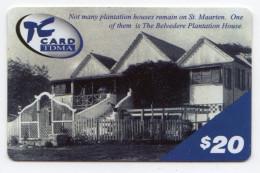 SAINT MARTEEN PREPAID 20$ - Antilles (Netherlands)