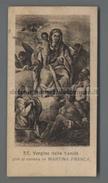 EM2460 SS. VERGINE DELLA SANITA MARTINA FRANCA TARANTO Santino Holy Card - Religione & Esoterismo