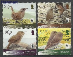 Falkland Islands 2009 Mi 1276 MNH -  Songbirds WWF  ( ZS7 FLK1078-1081 )