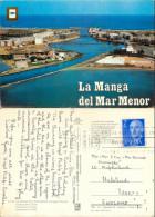 La Manga Del Mar Menor, Spain Postcard Posted 1976 Stamp - Murcia