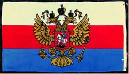 Flagge / Fahne Des Russländischen Reiches (ab 1882)  -  Material : Polyester  -  Größe Ca. 150 X 90 Cm - Andere Sammlungen