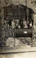 78 MANTES Carte-Photo De La Crèche  De L´église Notre-Dame En 1928 ParPhoto.Lagarde à Mantes - Mantes La Ville