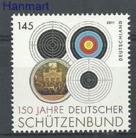 Germany - Federal Republic 2011 Mi 2572 MNH -  Shooting / Archery  ( ZE5 GRM2881 )