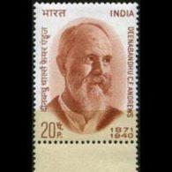 INDIA 1971 - Scott# 535 Publicist Andrews Set Of 1 LH