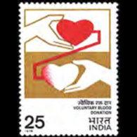 INDIA 1976 - Scott# 735 Blood Donation Set Of 1 LH