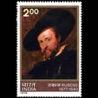 INDIA 1978 - Scott# 796 Rubens Painting Set Of 1 LH