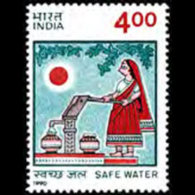 INDIA 1990 - Scott# 1323 Drinking Water Set Of 1 LH