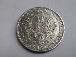 Autriche 1 Florin 1860 A   KM 2219 François Joseph   Argent 0.900  SUPERBE - Autriche