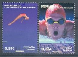 Spain 2003 Mi 3846-3847 MNH -  Swimming / Watersports  ( ZE1 SPN3846-3847 )