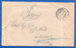 Deutschland; Brief Mit Inhalt 1918; Feldpost Stempel Bad Kösen - Deutschland