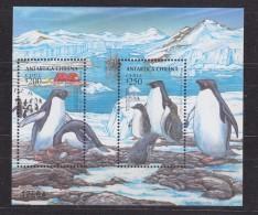 Chile 1993 Antarctica / Penguins M/s  ** Mnh (31395) - Chili