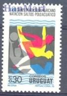 Uruguay 1976 Mi 1398 MNH -  Swimming / Watersports  ( ZS3 URG1398 )