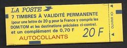Carnet Marianne De Briat N° 1505  (7 VP Et 1 à 0,70 Fr)  Livraison Gratuite - Freimarke
