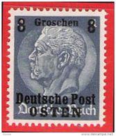 MiNr. 2 Xx  Deutschland Besetzungsausgaben II. Weltkrieg Generalgouvernement - Besetzungen 1938-45
