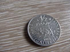 1/2 Franc 1995 Semeuse Nickel - France