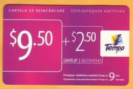 Moldova Moldavie Moldau Used 9,50 $  Telephone Card