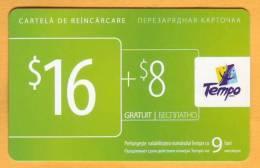 Moldova Moldavie Moldau Used 16 $  Telephone Card
