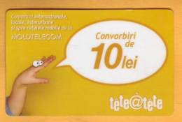 Moldova Moldavie Moldau Used 10 Lei  Telephone Card