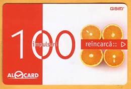 Moldova Moldavie Moldau Used 100 Lei  Telephone Card