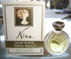 NINA - EDT 6 ML  De NINA RICCI - Miniatures Modernes (à Partir De 1961)