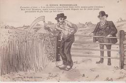"HUMOUR Du MORVAN . SCENES MORVANDELLES . "" Promettre Et Tenir "" Notable  Et Paysan . Illust BERTY - Humor"