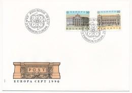 SUISSE -  FDC 2005 - EUROPA - 1 Enveloppe - 1990