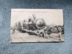 Angers 21 Juin 1908 Le Rapide De Paris Déraillé En Gare De La Maitre école - Angers