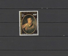 Djibouti 1981 Paintings Rembrandt Stamp MNH
