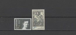 Netherlands / Czechoslovakia 1982/1983 Paintings Rembrandt 2 Stamps MNH