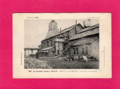 Grande Guerre 1914-15, NOEUX-LES-MINES (62), Une Fosse Bombardée, Animée, (Baudinière) - War 1914-18