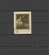 Romania 1967 Paintings Rembrandt Stamp MNH