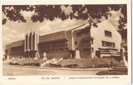 CPSM Brésil - Rio De Janeiro - Ecole D'Education Physique De L'Armée - Rio De Janeiro