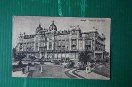CARTOLINA  RIMINI  GRAND HOTEL -  AFFRANCATURA EFFIGIE - 1920 - Rimini