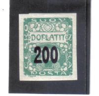 BAU598 TSCHECHOSLOWAKEI  1927 PORTO MICHL 54  (*) FALZ Siehe ABBILDUNG - Tschechoslowakei/CSSR