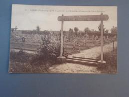 Cpa Arras Cimetière Militaire De Saint-Sauveur - 1914-18